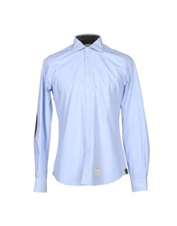 Fred Mello Shirts Sky Blue