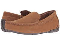 Tempur Pedic Brantford Tan Nubuck Men's Slippers