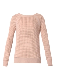 Vince Cashmere Blend Thermal Sweater