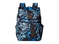 Vera Bradley Lighten Up Drawstring Backpack Java Floral Backpack Bags Black