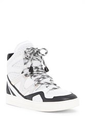 Marc By Marc Jacobs Ninja High Top Sneaker White