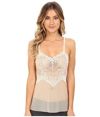 Wacoal Embrace Lace Camisole Naturally Nude Ivory Women's Lingerie Navy