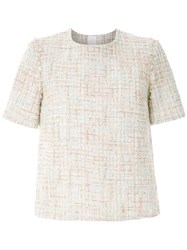 Olympiah Knitted Blouse Neutrals