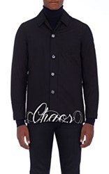 Undercover Men's Chaos And Balance Cotton Jacket Black