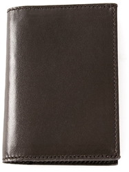Melindagloss Leather Cardholder Brown