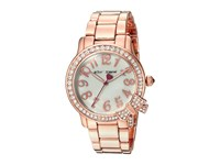 Betsey Johnson Bj00562 05 Crystal Bezel Bow Rose Gold Watches