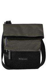 Sherpani Small Pica Crossbody Bag Grey Ash