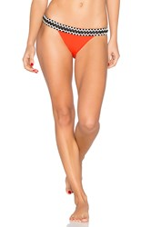 Sauvage Rio Low Rise Bikini Bottom Red