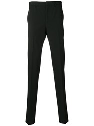Givenchy Fitted Tailored Trousers Polyester Acetate Cupro Wool Black
