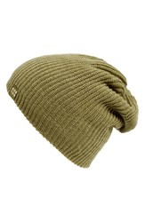 Men's Burton 'All Day Long' Beanie Green Algae Heather