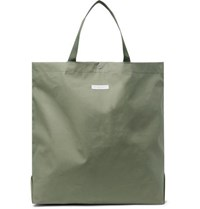 Engineered Garments Cotton Canvas Tote Bag Green
