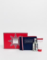 Tommy Hilfiger Girl Favourite Thing 50Ml Set Body Wash Cosmetic Pouch Clear