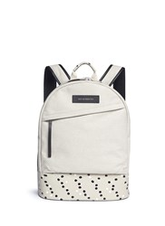 Want Les Essentiels 'Kastrup' Paint Dot Canvas Backpack Neutral