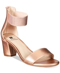 White Mountain Elinie Dress Sandals A Macy's Exclusive Style Women's Shoes Rose Gold