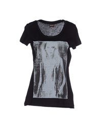 Pieces Topwear T Shirts Women Black