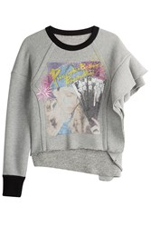 Maison Martin Margiela Sweatshirt With Wool And Cotton Grey