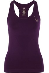 Lucas Hugh Core Technical Knit Stretch Tank Purple