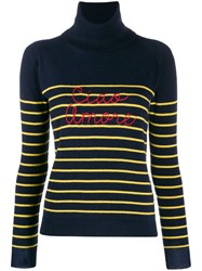 Giada Benincasa Striped Jumper Blue