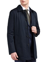Guards Of London Water Resistant Tailored Shortie Raincoat Navy
