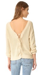 Feel The Piece Doral Sweater Bisque
