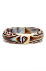 Women's L. Erickson 'Jada' Bangle Natural Horn