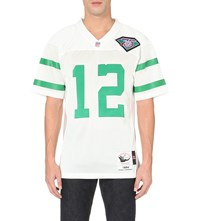 Mitchell And Ness Randall Cunningham Mesh Jersey Top White