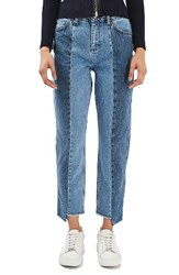 Topshop Women's Boutique Step Hem Jeans