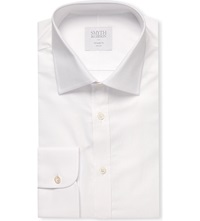 Smyth And Gibson Tailored Fit Single Cuff Shirt White