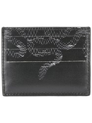 Marcelo Burlon County Of Milan Rodrigo Card Holder Men Calf Leather One Size Black