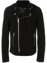 Diesel Black Gold 'Lestan' Exposed Zip Jacket Black