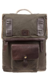 Men's Will Leather Goods 'Mt. Hood' Backpack Green Olive