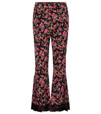 Dolce And Gabbana Flared Trousers Black