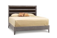 Copeland Furniture Surround Bed For Mattress And Box Spring King Gray