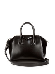 Givenchy Antigona Mini Leather Cross Body Bag Black