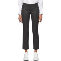 Alexander Mcqueen Grey Flannel Trousers