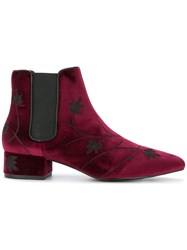 Senso Kaia Ii Floral Boots Red