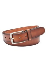 Fossil Men's Griffin Leather Belt Cognac