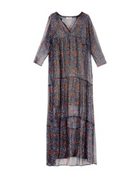 Bella Jones Long Dresses Dark Blue