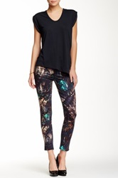 Genetic Denim Solace High Rise Crop Jean Multi