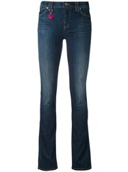 Armani Jeans Classic Skinny Women Cotton Polyester 26 Blue