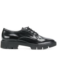 Geox Chunky Sole Oxford Shoes Black