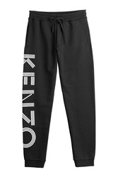 Kenzo Cotton Sweatpants Black