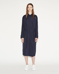 Jil Sander Caramel Shirtdress Navy