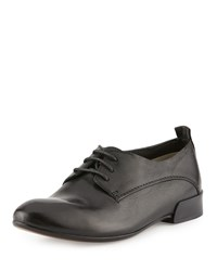Cnc Costume National Lace Up Leather Oxford Black