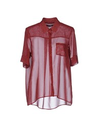 Fabrizio Lenzi Shirts Red