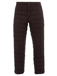 Goldwin Cross Down Filled Trousers Black