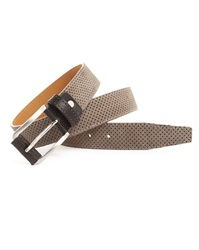 Menlook Label Grant Taupe Belt
