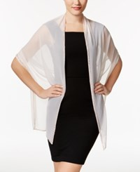 Inc International Concepts Beaded Border Evening Wrap Only At Macy's Barely Pink