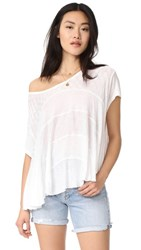 Free People Anything And Everything Top White