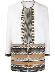 Bazar Deluxe Embroidered Stripes Jacket 60
